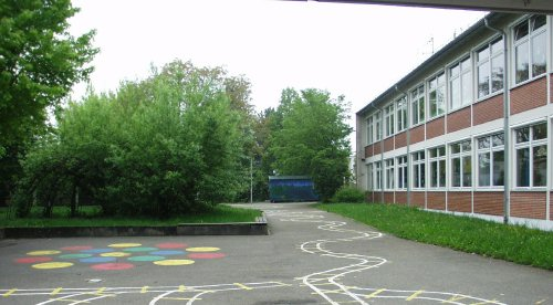 Schulhof Burgschule Waiblingen