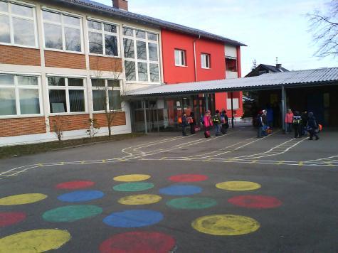 andere Schulhofseite Burgschule Waiblingen