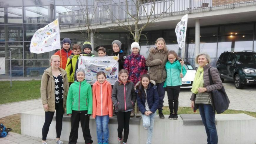 Jugend trainiert für Olympia Schwimmen: Platz 1 und 3 für die Teams der Burgschule Hegnach